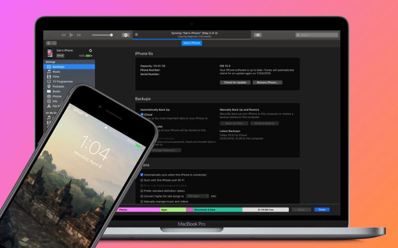 iTunes ne synchronise pas avec iPhone, iPad et iPod