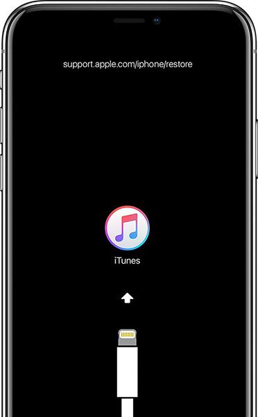 accéder au mode de récupération sur iPhone