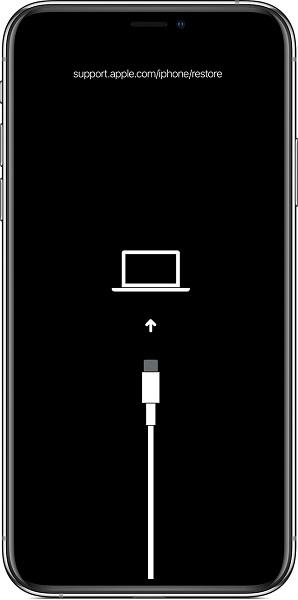 accéder au mode de récupération sous iPhone
