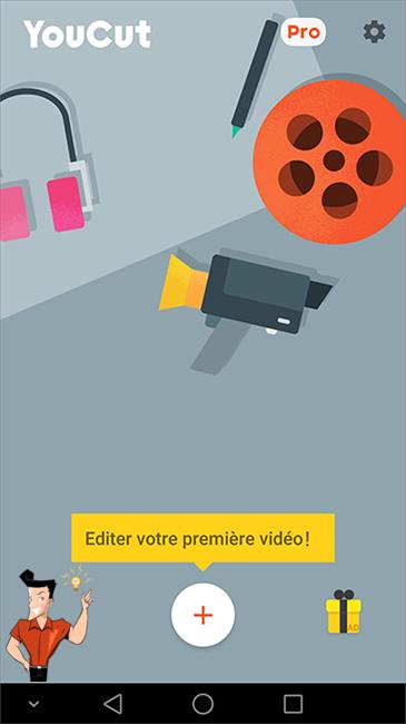 l'application de montage vidéo YouCut
