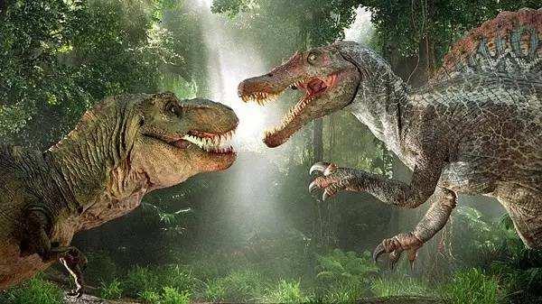 les images crées par CGI dans le film Le parc Jurassique