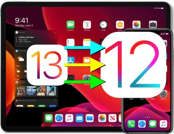 faire le downgrade iOS