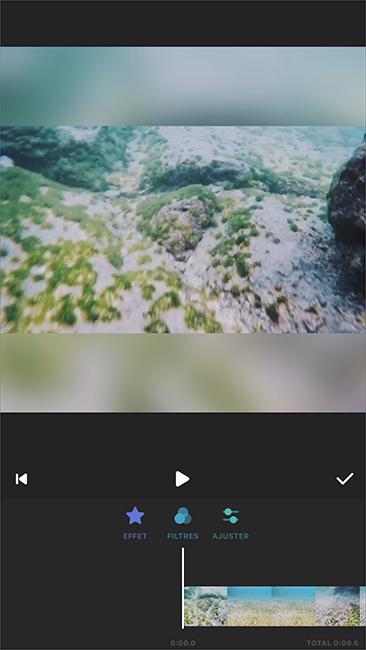 ajouter un filtre à la vidéo