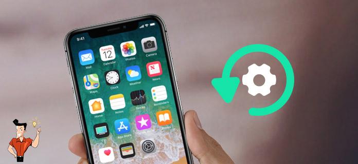 réinitialiser iPhone à l'état d'usine