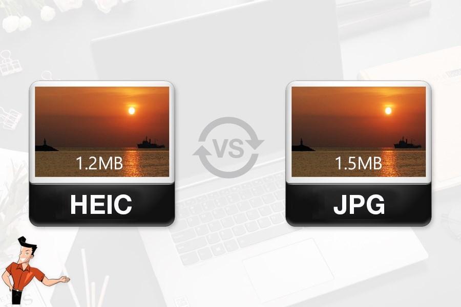 convertir le format heic en jpg