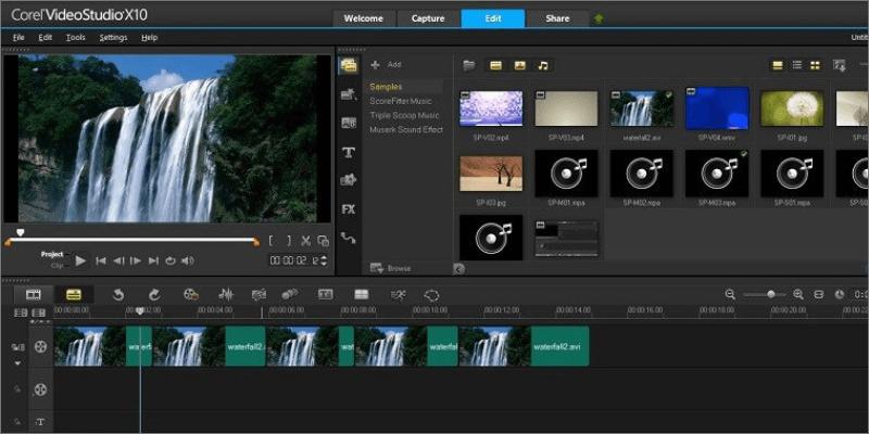 fusionner des vidéos avec VideoStudio