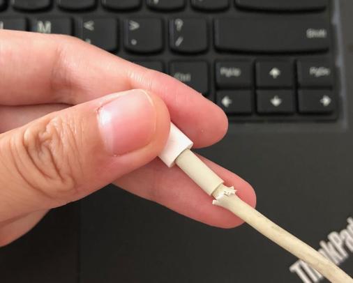 le PC ne reconnaît pas iPhone à cause de la connexion anormal du câble de données
