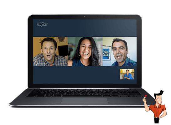 comment enregistrer une vidéo Skype