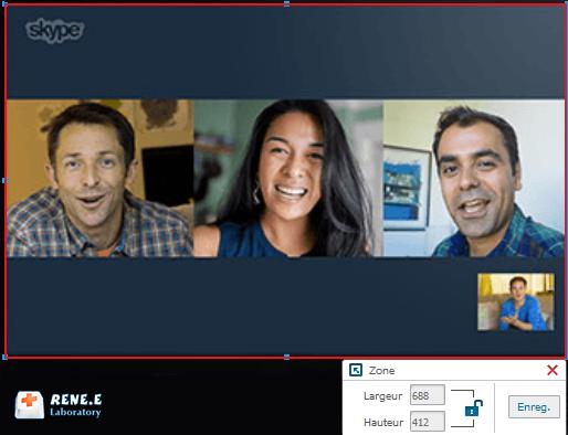 enregistrer une vidéo Skype avec Renee Video Editor Pro
