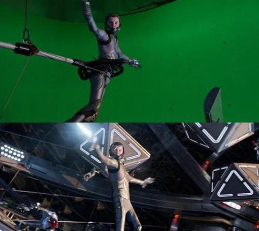 comment séparer l'acteur sur le fond vert