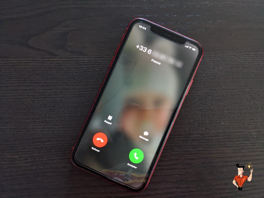 bloquer l'appel sur l'iPhone