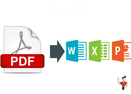 remplir un formulaire PDF après la conversion