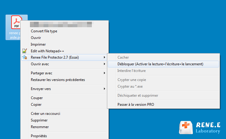 débloquer un fichier PDF