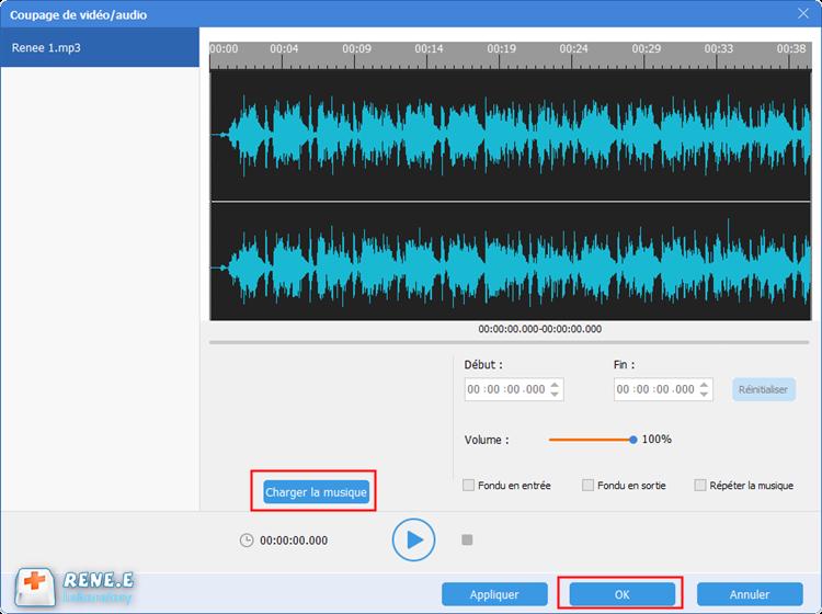 charger la musique à mixer