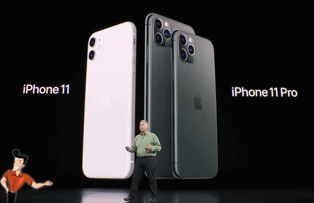 introduction de iPhone 11