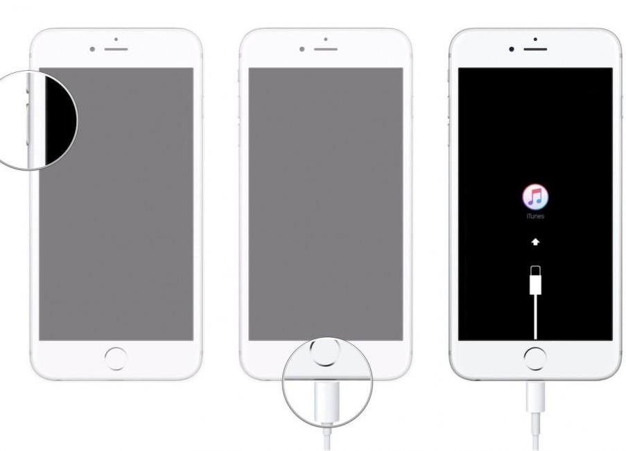 mode de récupération pour iPhone 6