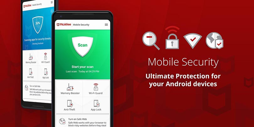 McAfee Mobile Security pour Android