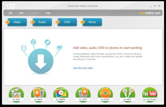Freemake Video Converter pour convertir MP4 en MP3
