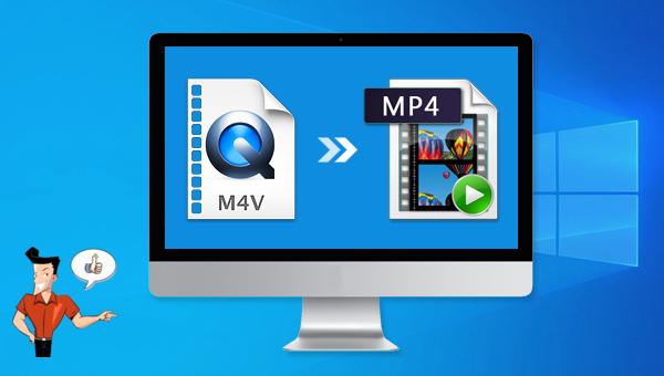 convertir M4V en MP4 sous Windows