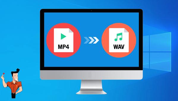 convertir MP4 en WAV sous Windows
