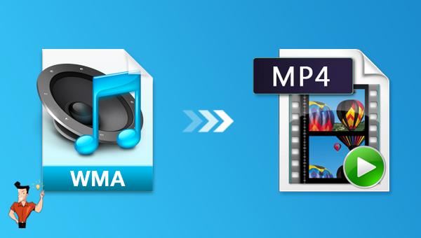 comment convertir WMA en MP4