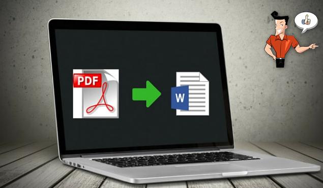 convertir le PDF en Word sur le Mac