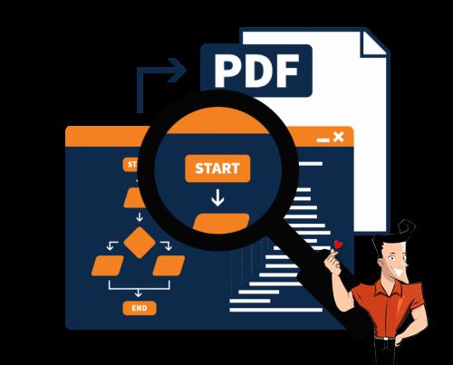 comment éffectuer un PDF search