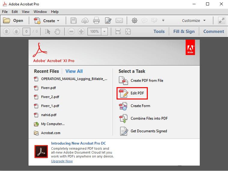 éditer le fichier PDF