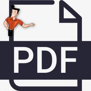 convertir un fichier PDF en TXT