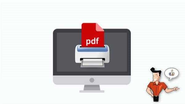 les imprimantes PDF