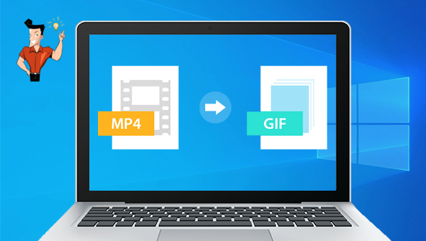 convertir une vidéo MP4 en GIF