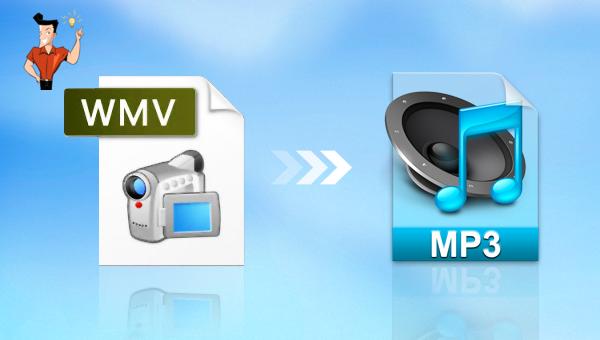 convertir une vidéo WMV en MP3