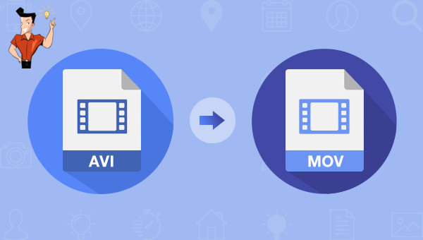 convertir une vidéo AVI en MOV
