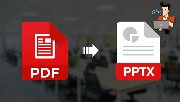 comment convertir le fichier PDF en PPTX