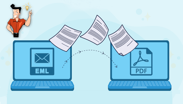 comment convertir un fichier EML en PDF