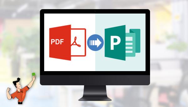 comment convertir un fichier PDF en Publisher