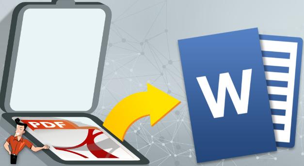comment convertir un fichier PDF scanné en Word