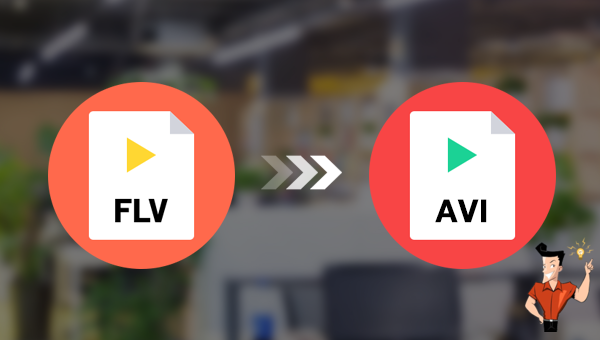 convertir un fichier FLV en AVI