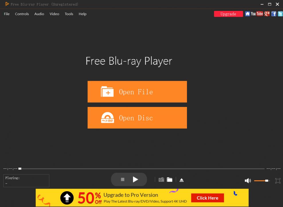 lire le fichier VOB avec Free Blu-ray Player