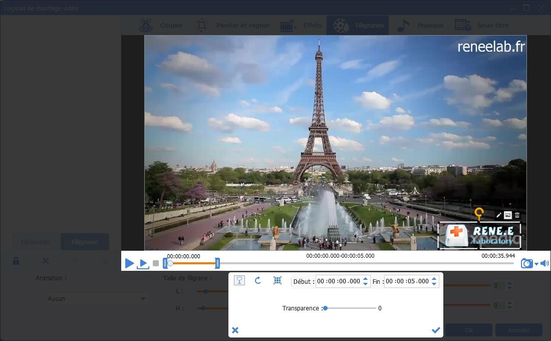 ajouter la vidéo ou l'image pour mettre dans la vidéo