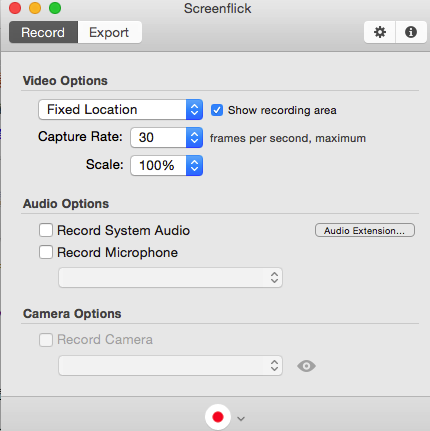 enregistreur d'écran ScreenFlick