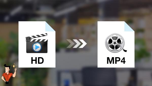 convertir une vidéo HD en MP4