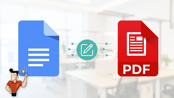 comment éditer un PDF sur Google Doc