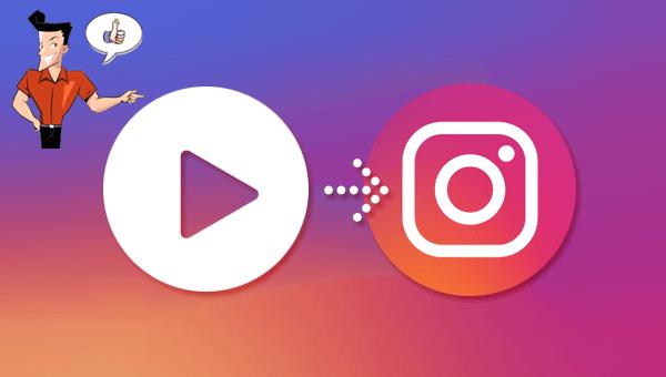 convertir une vidéo à un format pour Instagram