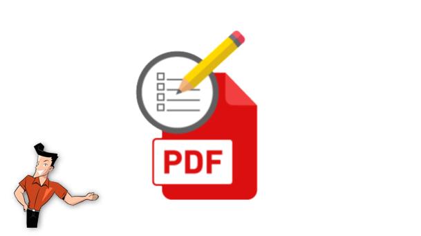 comment écrire sur un PDF