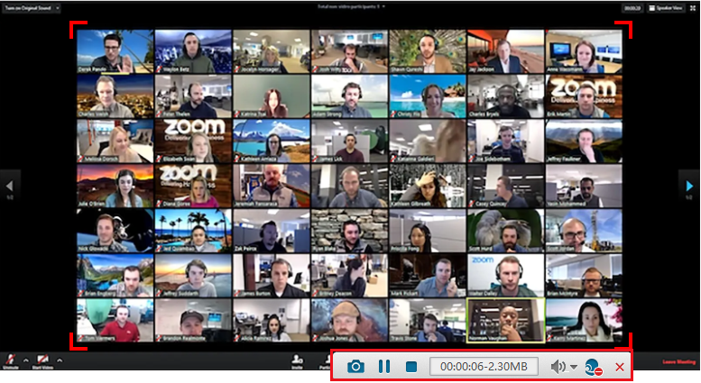 enregistrer une conférence Zoom avec Renee Video Editor Pro
