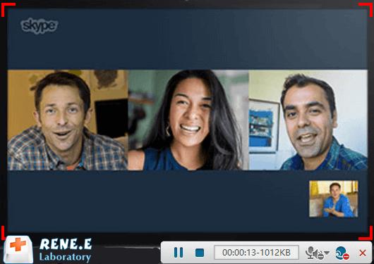enregistrer une visioconférence avec Renee Video Editor Pro