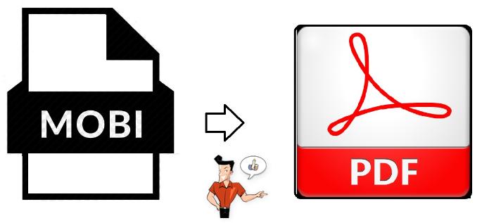 comment convertir un fichier MOBI en PDF