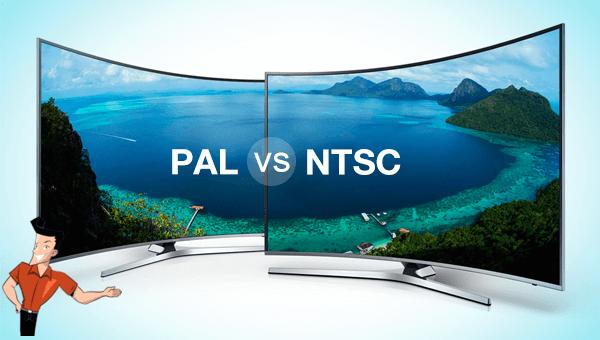 utiliser le format PAL ou NTSC