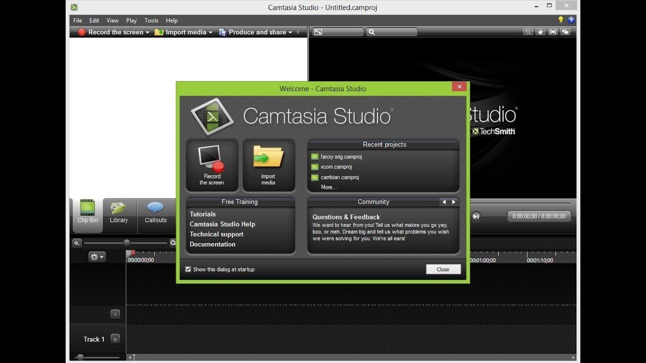 convertir une vidéo Camtasia en MP4 avec Camtasia